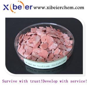 China sodium sulphide flake 60%/sodium sulphide manufacturer in China on sale