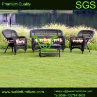 China Outdoor Patio Chair Pads Rattan Chair on sale