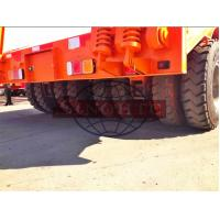 China 2x2 50 T Low Loader Semi Trailer, 2 Line Four Axle Heavy Duty Low Bed Trailers wholesale