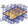 China Stable Commercial Industrial Mezzanine Floors Steel Platform For Workshop wholesale
