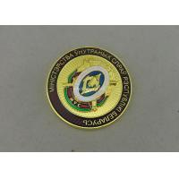 China Transparent Enamel Personalized Military Coins , Custom 3D Memorial Coin For Army on sale