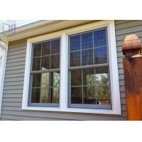 Europe Style Double Hung Aluminium Windows Double Glazed With Grilles