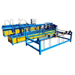 China Hot selling automatic diamond wire mesh chain link fence making machine wholesale
