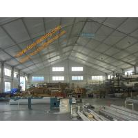China Windproof Temporary Workshop Tent Aluminum Structure Waterproof Marquee Tents wholesale