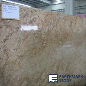 China Kashmir Gold Granite Slab on sale