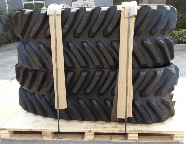 """Quality Reinforced High Power AG Rubbe Tracks Sized In 30""""X6""""X57 For CAT Challenger 65-95 Allowing High Speed Wear Resistance for sale"""
