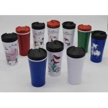 China Hot sale BPA free 350ml plastic mighty mug suction mug commuter's coffee mug wholesale