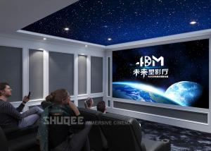 China Movie Reclining Sofa Chairs For Home Cinema System With Amplifier,3D Projector wholesale