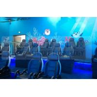 China Black Motion Seat Cinema 5D Simulator System With Three Dimensional Movies wholesale