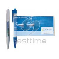 China 0.5mm Plastic Ball Pen / Ballpoint Pens with  printed on barrel or clip MT2046 wholesale