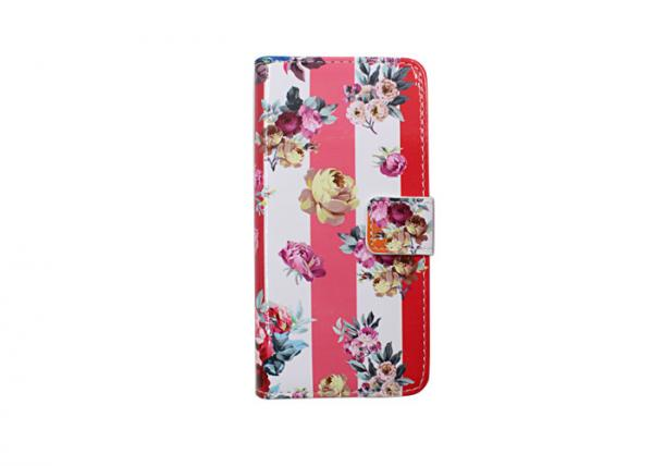 Quality Custom Printed Scratch Resistant Phone Case Waterproof Fading Flowers Pattern for sale