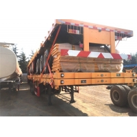 China 2 Axles 3 Axles 4 Axles 20ft 40ft Shipping Container Trailer on sale