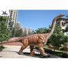 China Playground Decoration Giant Dinosaur Statue Realistic Brachiosaurus Dinosaur Replica wholesale
