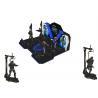 China Theme Park Virtual Reality Walking Platform Interactive Games With 360 ° Rotation wholesale