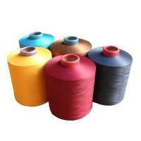 China Low Elastic DTY Sewing Thread Yarn Yarn 300D/576F Polyester Material on sale