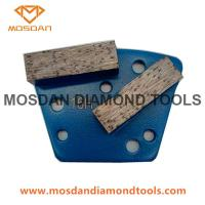 China Diamatic Double Bars Diamond Tools for Concrete Grinding wholesale