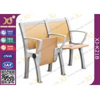 China 530 MM Center Multipurpose Foldable Student Desks And Chairs For Lecture Hall wholesale