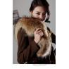 China Women's Raccoon Fur Scarves Fur Scarf Fur Shawl Fur Muffler Fur Neckerchief Z42 wholesale