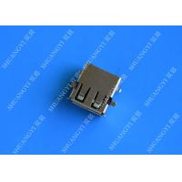 Buy cheap 2.0 Female USB Type A Connector 4 Pin DIP 90 Degree Jack Socket For Server from wholesalers