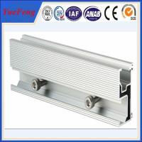 China Aluminum extrusion for solar pannel mounting aluminium profile guide rail on sale