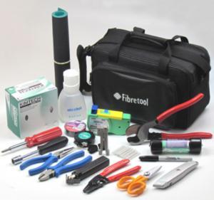 China HW - 306B Fiber Optic Tool Kit Stripper Kevlar Scissor Cable Tripper / Screwdriver wholesale