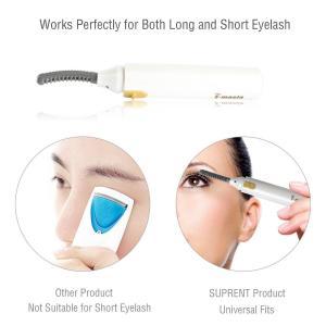 Maquillage passionné de bigoudi de cil de double côté électrique aucun outil de bordage de mèche d'oeil de mal