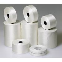 China White Electrical Insulation Products Fiberglass Ribbon Tape For Transformers wholesale