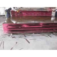China Totally Poplar Core Construction Plywood 12mm - 21mm Brown Film With Logo on sale