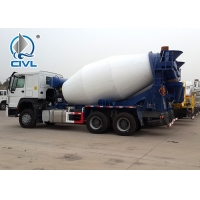 China HOWO A7 Concrete Mixer Trucks Diesel 8cbm 6x4 EuroII With Italy Motor wholesale