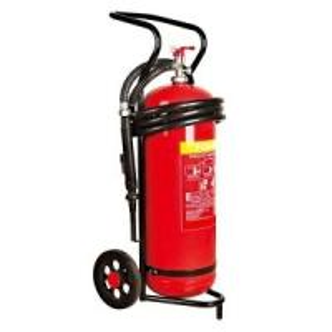 Buy cheap 50 kgの地下鉄のためのトロリーによって動かされる乾燥した粉の消火器テスト圧力25棒 from wholesalers