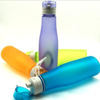 China colorful plastic water bottle wholesale