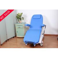 Semi Fowler Blood Donor Chair , Mobile Patient Dialysis Chair for Hospital ICU