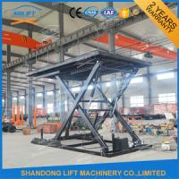 China 3M Super Steady Small Car Lift Scissor Used Car Hoist Lift With CE wholesale