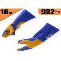 China OEM / ODM Heat Resistant Work Gloves , Heat Resistant Welding Gloves wholesale