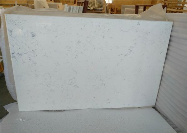 "Quality 24"" X 36"" Engineered Stone Quartz Countertops Quartz Table Top For Sample House for sale"