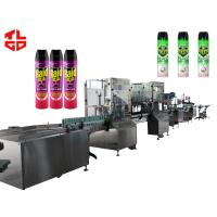 China Aerosol Spray Filling Machine for Insecticide Pesticide wholesale