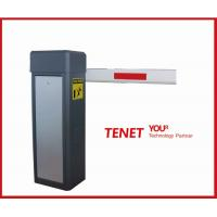 China Automatic electronic parking barrier gate , straight barrier gates with gray wholesale
