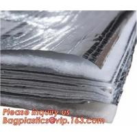 China Fire Retardant Thermal Reflective Attic Insulation Aluminum Foil Insulations Roofing Wall wholesale