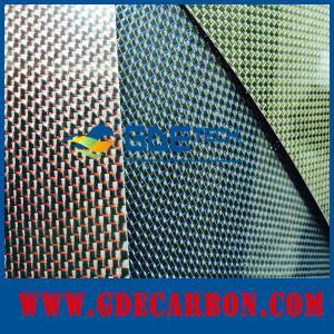 GDE carbon fiber sheets suppliers making high quality color carbon fiber sheets