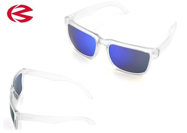 Quality Crystal PC Frame Fashion Casual Sunglasses , Eye Protection Revo Polarized Sunglasses for sale