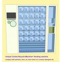 China Commercial Combo Vending Machine Recycle Empty Bottles & Sell Perfume , Motor Oil wholesale