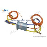 China 56MM Electro Optical Slip Ring / Fiber Optic Slip Ring With Stainless Steel Housing wholesale