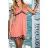 China White Halter Tie Keyhole Sundress Babydoll Lingerie nightwear women dress skirt Rose wholesale