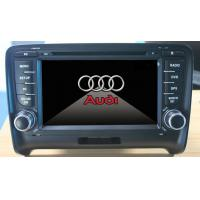 China Digital TV Audi Car DVD Player , A2DP Car Stereo With Blue Tooth on sale
