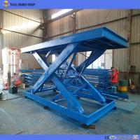 China Factory Supplied Garage Using Stationary Scissor Lift Table for Materials Handling on sale