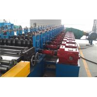 China Hydraulic Deoiler Highway Guard rail Roll Forming Machine 10Tons 20 Stations wholesale