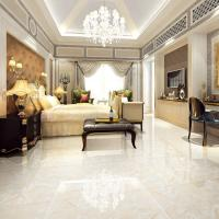 China Large White Marble Look Porcelain Tile / Marble Porcelain Floor Tile 800x800 on sale