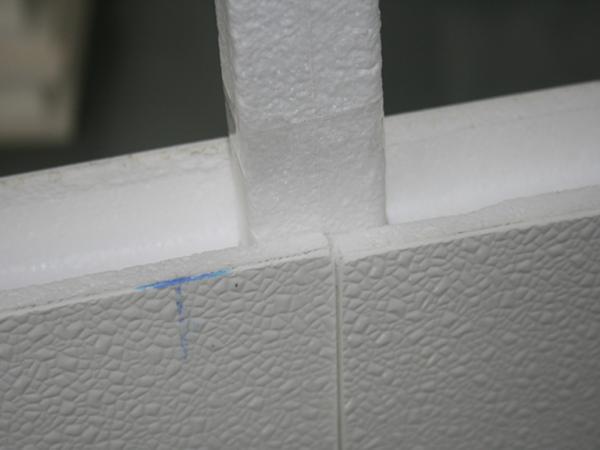 Fiberglass bathroom walls