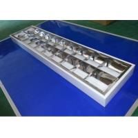 China Surface Mounted Led Tube Light Bulbs Reflective Iron Grille Light  For Classroom on sale