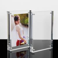 China High Clear Magnetic Custom Photo Frame Acrylic Material With Double Sided wholesale